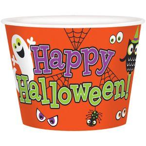 Halloween Paper Popcorn Bucket