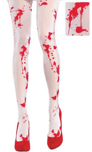 Bloody White Tights