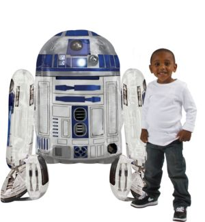R2-D2 Balloon - Giant Gliding Star Wars