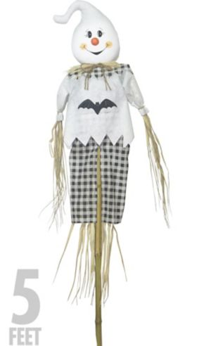 Friendly Ghost Scarecrow