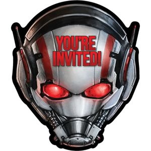 Ant-Man Invitations 8ct