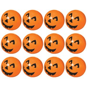 Inflatable Jack-o'-Lanterns 12ct