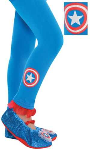 Child American Dream Footless Tights