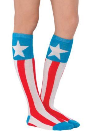 American Dream Knee High Socks