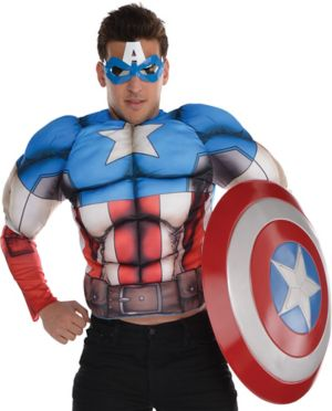 Captain America Muscle Shirt