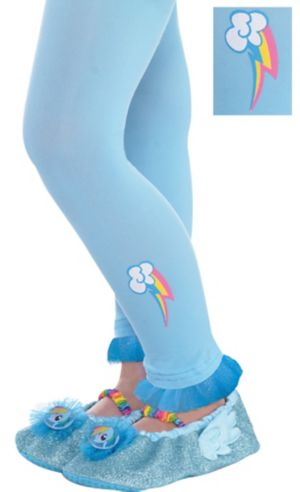 Child Rainbow Dash Footless Tights - My Little Pony
