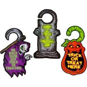 Halloween Trick or Treating Door Hangers 3ct