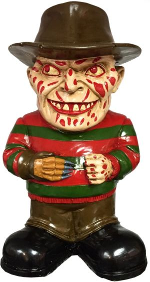 Freddy Krueger Garden Gnome - A Nightmare on Elm Street