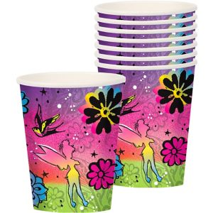 Keep Flying Tinker Bell Cups 8ct