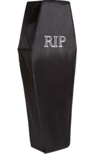 Pop-Up Black Coffin