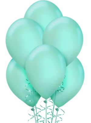 Robin's Egg Blue Balloons 15ct