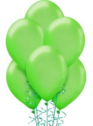 Kiwi Green Pearl Balloons 15ct