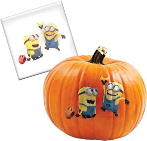 Minion Pumpkin Decorating Tattoo - Despicable Me