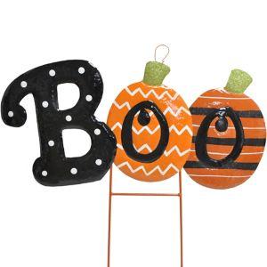 Boo Halloween Yard Stake