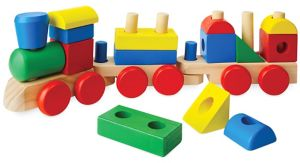 Stacking Train Playset 18pc