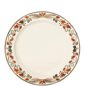Thanksgiving Premium Plastic Dessert Plates 20ct