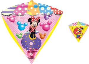 6th Birthday Minnie Mouse Balloon - Diamondz