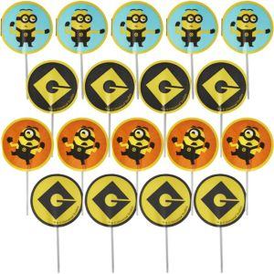 Minion Cupcake Picks 18ct - Minions Movie