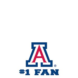 Arizona Wildcats #1 Fan Decal