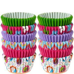 Wilton Cupcake & Flower Mini Baking Cups 150ct