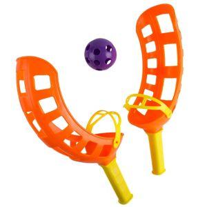 Orange Fling Toss Game 4pc