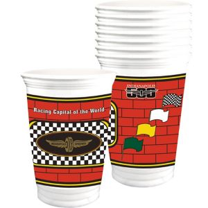 Indy 500 Plastic Cups 8ct