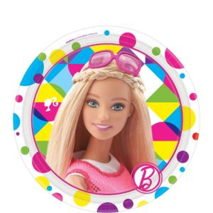 Barbie Dessert Plates 8ct