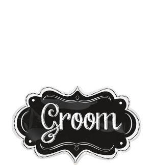 Wedding Balloon - Chalkboard Groom