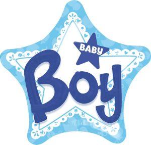 Boy Baby Shower Balloon - 3D Celebrate