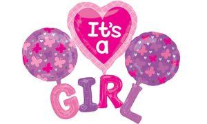Girl Baby Shower Balloon - Giant Celebrate