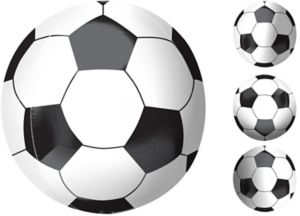 Soccer Ball Balloon - Orbz