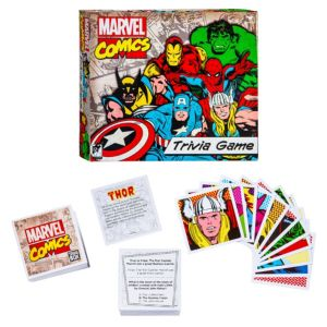 Trivia Box Marvel Comics