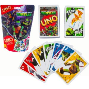 Teenage Mutant Ninja Turtles UNO Game Bag