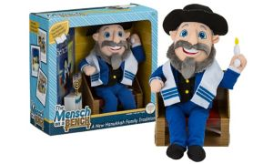 The Mensch on a Bench Doll with Storybook