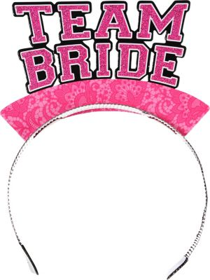 Glitter Team Bride Tiaras 6ct
