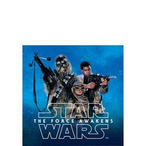 Star Wars 7 The Force Awakens Beverage Napkins 16ct