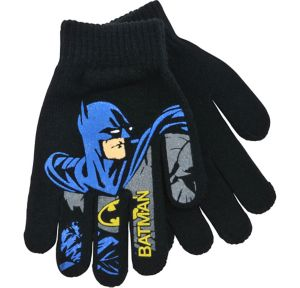 Child Black Batman Gloves