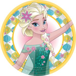 Frozen Fever Lunch Plates 8ct