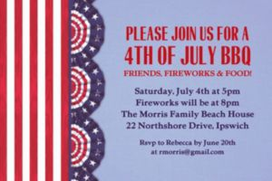 Custom American Pride Invitations