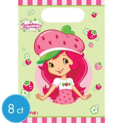 Strawberry Shortcake Favor Bags 8ct