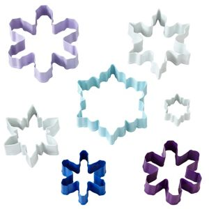 Snowflake Cookie Cutters 7ct