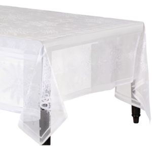 Snowflake Lace Tablecloth