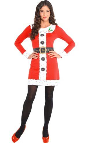 Santa Long-Sleeve Dress