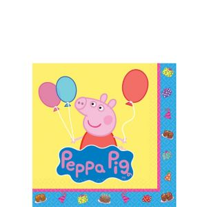 Peppa Pig Beverage Napkins 16ct