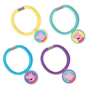 Peppa Pig Hair Ties 4ct