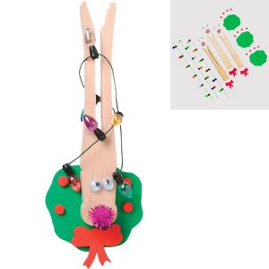 Clothespin Reindeer Craft Kit for 3