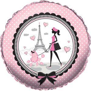 Pink Paris Balloon