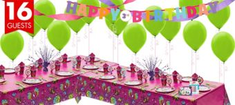 Keep Flying Tinker Bell Deluxe Party Kit for 16 Guests