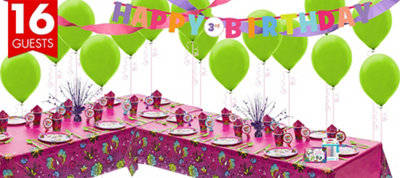 Keep Flying Tinker Bell Party Supplies Deluxe Party Kit