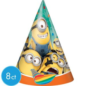 Despicable Me Party Hats 8ct
